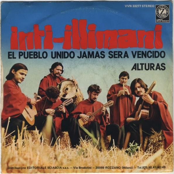 """il retrocopertina di """"El pueblo unido.../Alturas"""""""